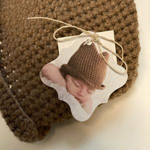 Mudpie Knit Fedora for Newborns